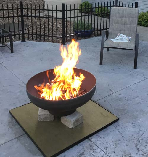 How To Use A Fire Pit On Your Deck